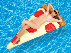 pizzaslice luftmadras