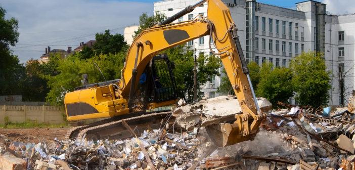 Byggeri og nedrivning