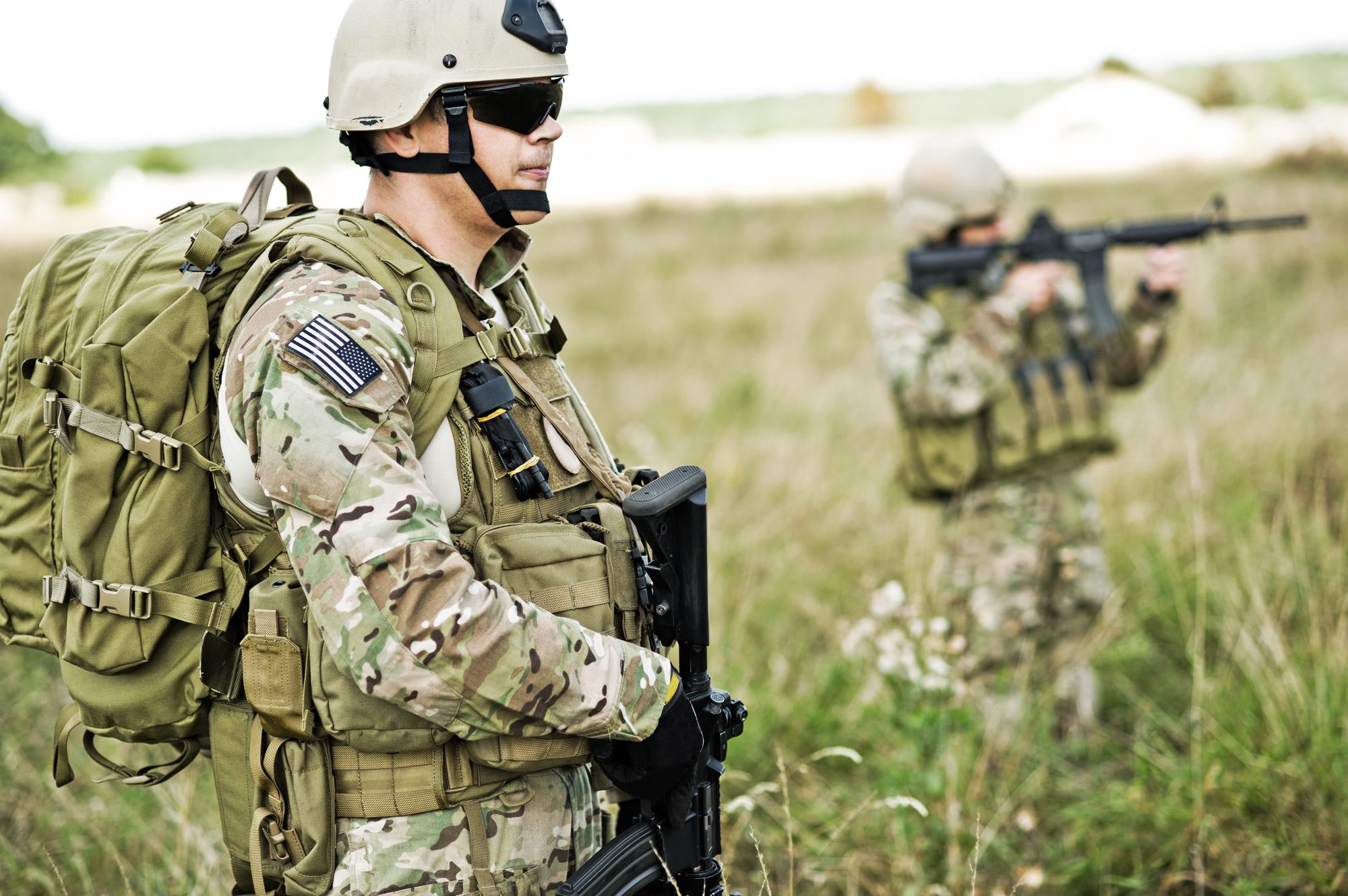 brugt militær udstyr