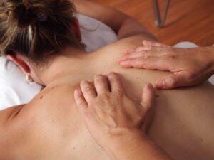 får massage