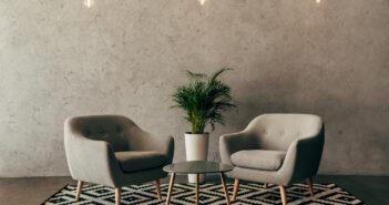 Moderne møbler og interiør